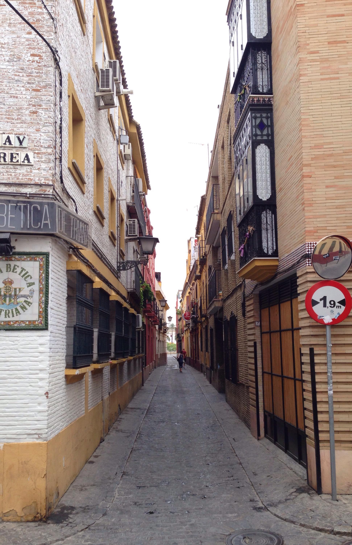 Sevilla Straße www.diewunderbarewelt.com