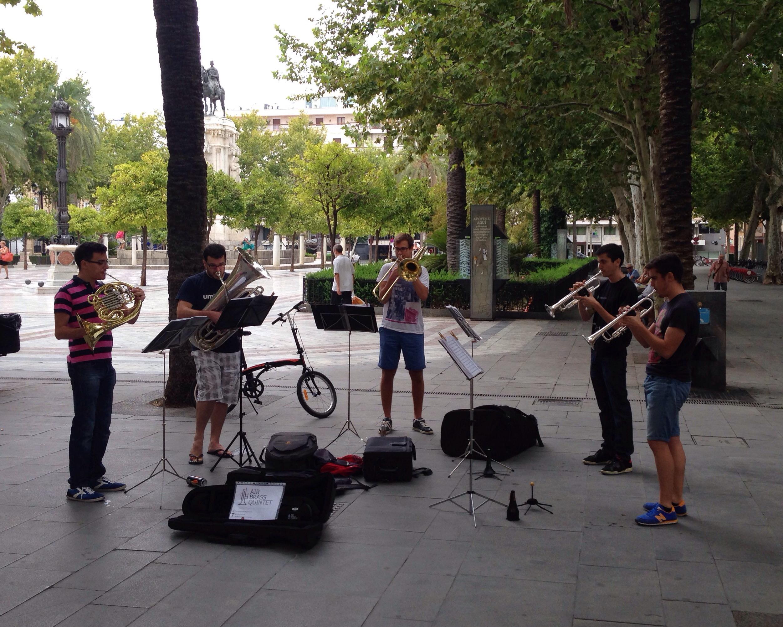 Brass Band Sevilla www.diewunderbarewelt.com