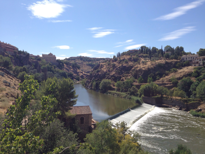 Toledo Fluss www.diewunderbarewelt.com