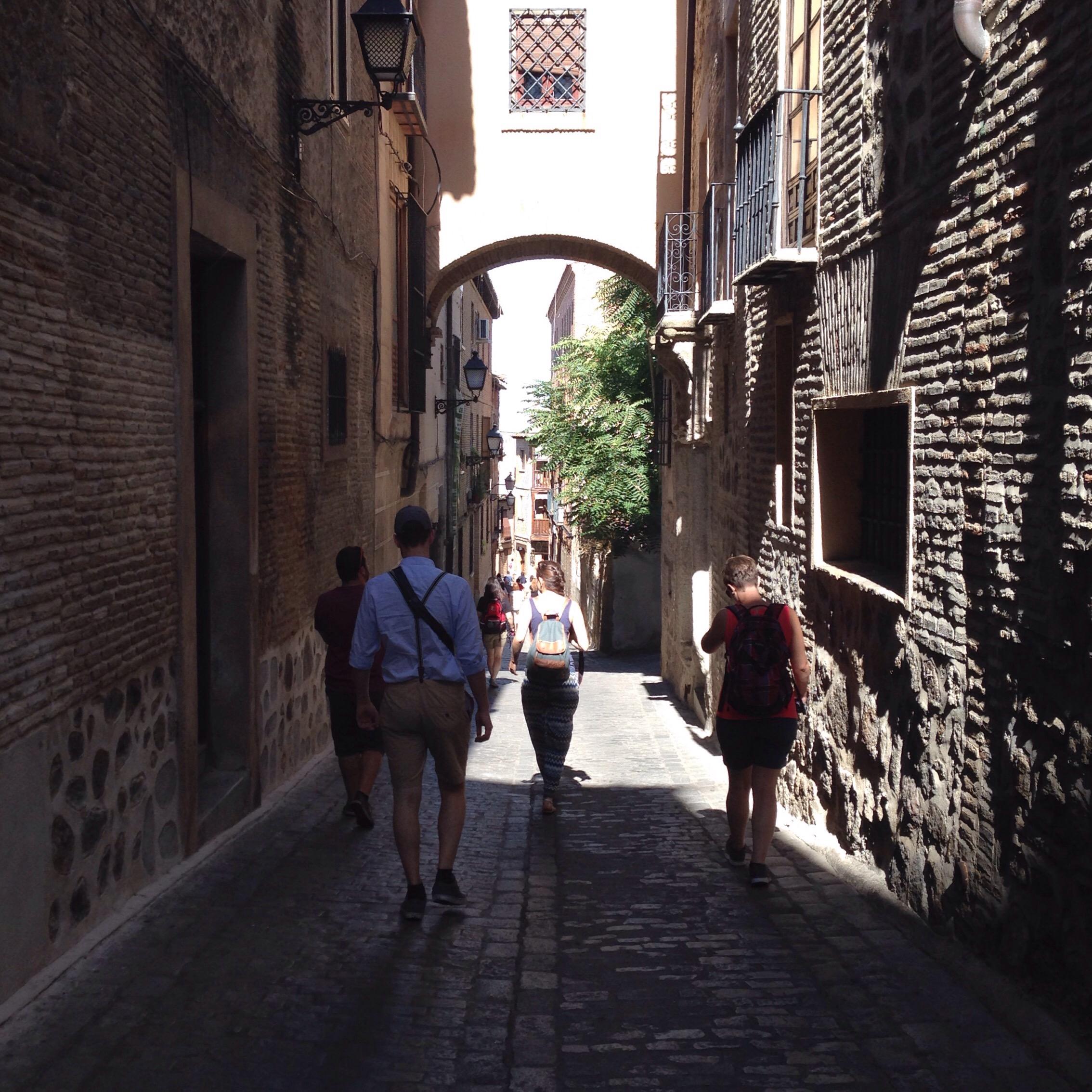 Toledo Straßen www.diewunderbarewelt.com